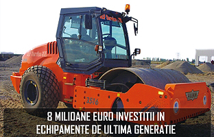 Nef Service SRL - 8 Millioan Euro invested in state-of-the-art equipment